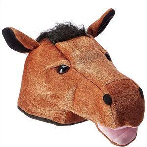 Kentucky Derby Horse Head Hat